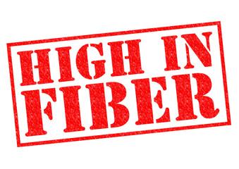 HIGH IN FIBER