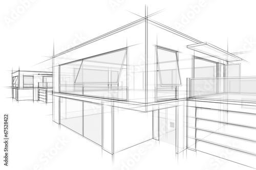 Gamesageddon architektur entwurf lizenzfreie fotos - Architektur skizze ...