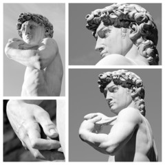 David by Michelangelo composition, Florence