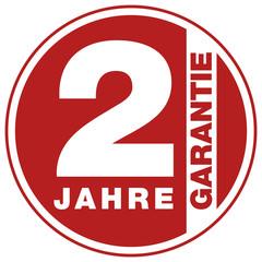 Garantie - 2 Jahre