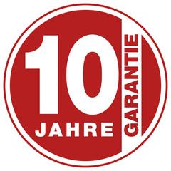 Garantie - 10 Jahre