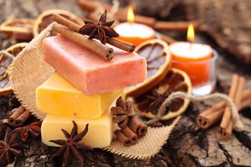Cinnamon   soap.