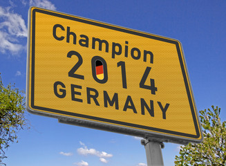 Sign Champion Germany