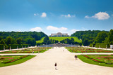 Gloriette and Schonbrunn Palace Garden