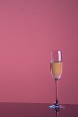 Glass mit alkohol