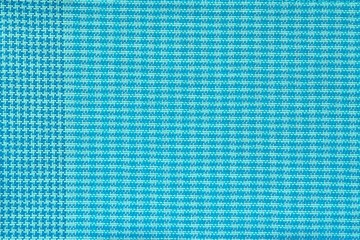 checkered fabric of azure color