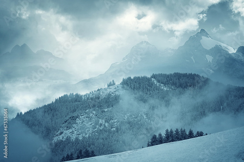 canvas print picture Mountain Landscape