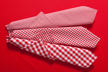 clothes - red and white checkered