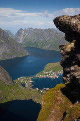 Beautiful Norwegian landscape - fjords