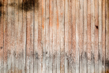 The brown wood plank texture background, vintage gate