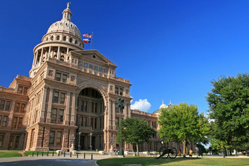 People visit Texas state capitol