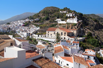 Frigiliana on Costa del Sol, Andalusia, Spain