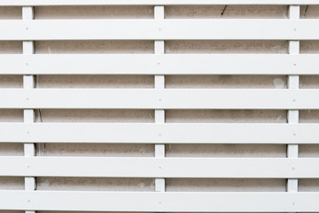 White Lath Wall