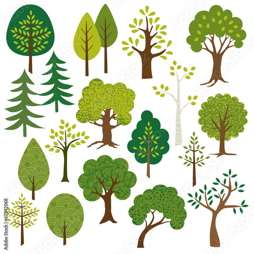 trees clipart - 67542068