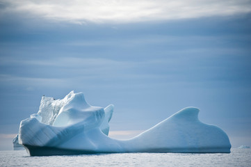 Icebergs of polar regions, Greenland