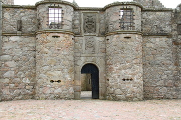 Tolquhon Castle,Aberdeenshire,Scotland,uk