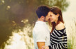 happy romantic sensual couple in love together on summer vacatio - 67542683