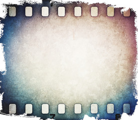 Colorful film strip background.