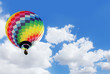 Leinwandbild Motiv Heissluftballon
