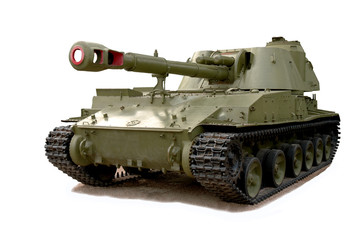 Soviet self-propelled howitzer