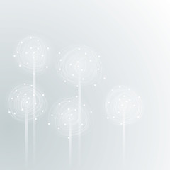DANDELION / Stylization of flower