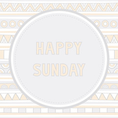 Happy Sunday background1