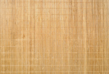 Bamboo Mat Texture Background