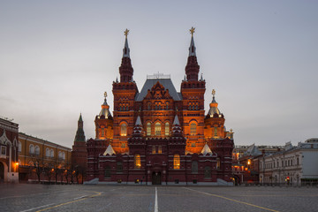 Entrance to Red Square Moscow Russia