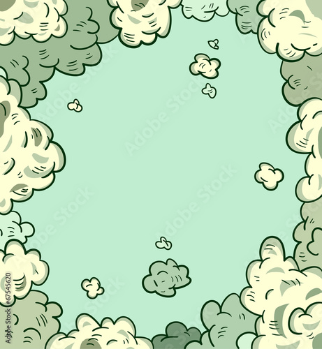 comic sky style. Vector illustration