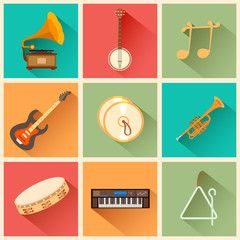 Music instrument © vectomart