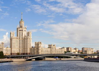 Old Moscow skyscraper
