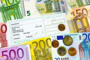 Grünes Arztrezept und Euro-Geld