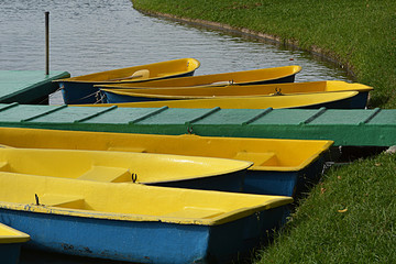 Boats for suanloung park,thailand