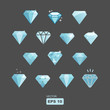 vector diamond set - 67548865