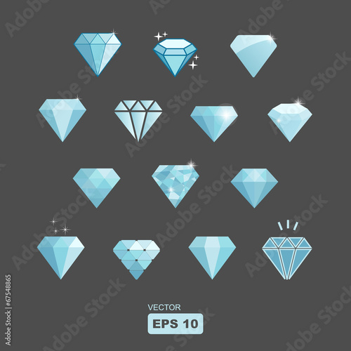 vector diamond set - 67548865