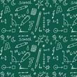 School doodle pattern
