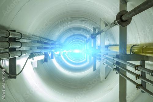 Leinwanddruck Bild tunel