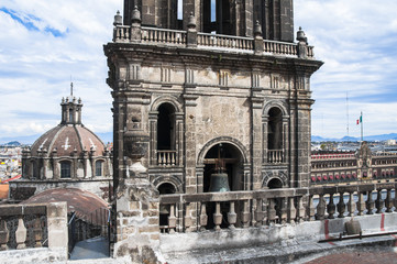Belfry of the Metropolitan Cathedral, Mexico City