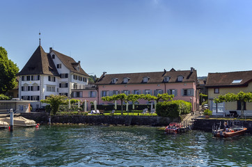 Zurich lake, Switzerland