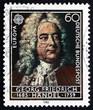 Postage stamp Germany 1985 George Frederick Handel, Composer