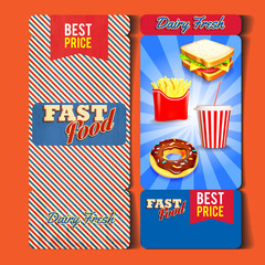 FAST FOOD TICKET