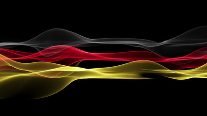 wonderful german color animation for sport events - loop HD