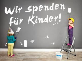 Wir spenden für Kinder