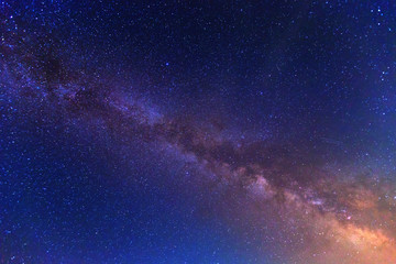 View to Milky Way Galaxy