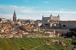 Toledo in morning light