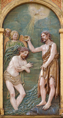 Toledo - Baptism of Christ in Monastery of Saint John