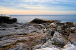 Rocky ledges and Atlantic Ocean