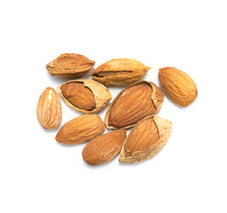 Cracked almonds