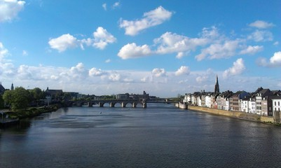Maastricht bridge view