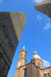 Bologna - Torre Asinelli and Torre Garisenda towers